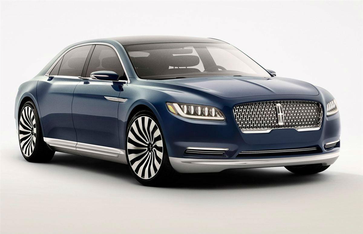 新车预览 林肯大陆定位为一款中大型轿车,并且是林肯旗下轿车系列的旗